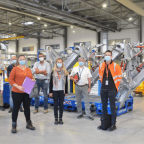 Les apprenants CESI en audit sur le site Safran Landing Systems